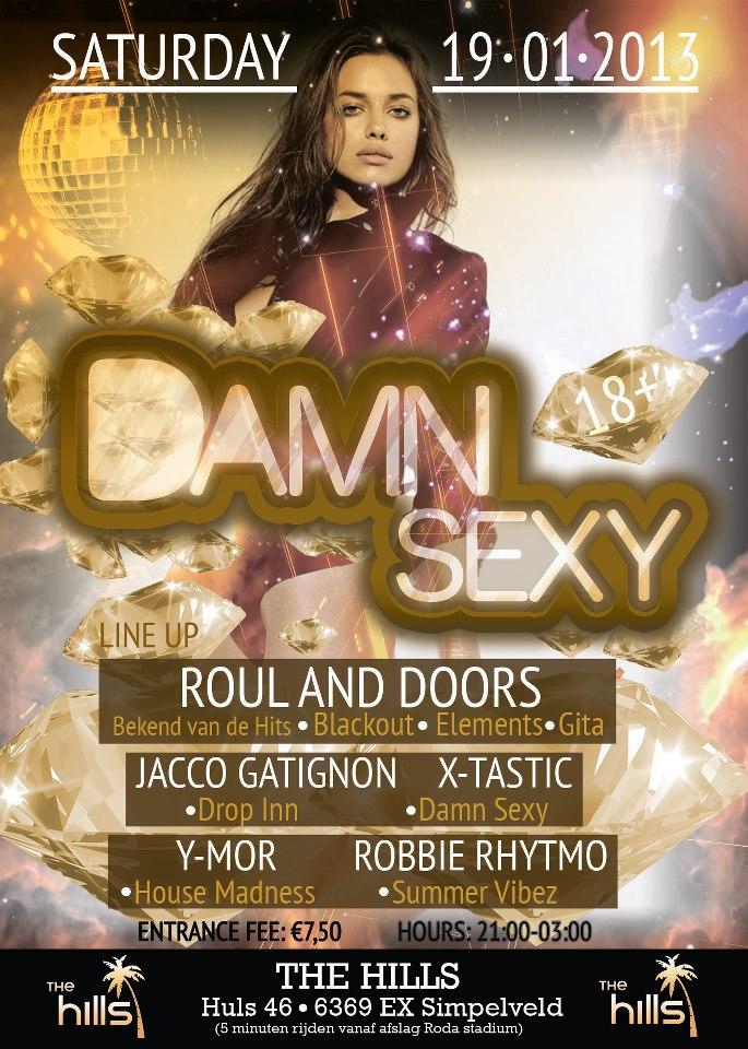 poster Damn Sexy 19 januari 2013